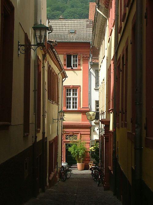 Alley in Heidelburg