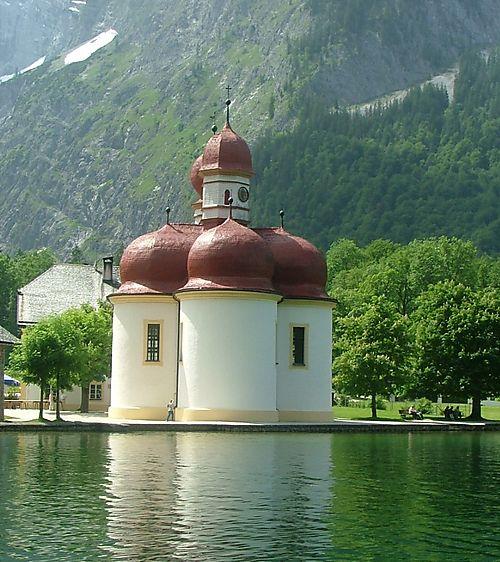 Church on Lake Kongsee
