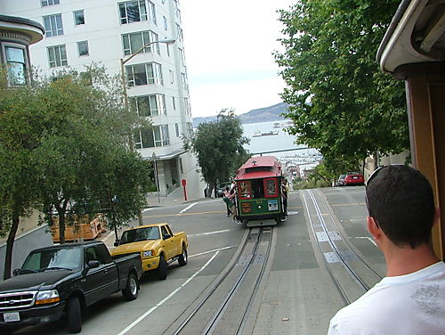 Riding the Cable Cars